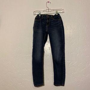 Jordache vintage super skinny girls jeans, size 12